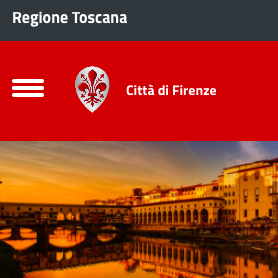 City of Florence website – Drupal 8 development - Immagine